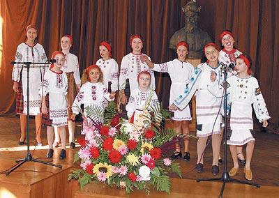 Вактовій залі Львівського національного медичного університету ім. Д. Галицького під час святкового концерту